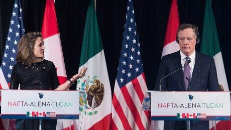 Canada and U.S. clash over sunset clause in 'forceful' NAFTA talks thumbnail