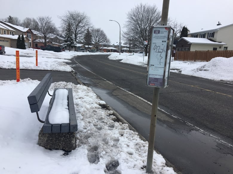 City staff made the planned sidewalk