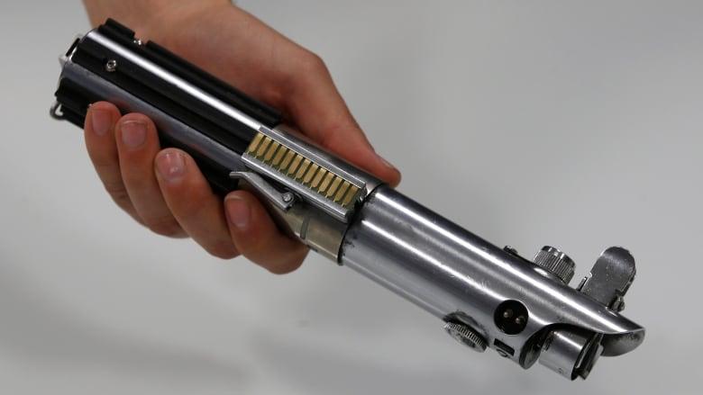 science world uses the force to display luke skywalker s lightsaber