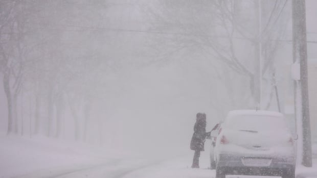 Intense winter storm marching through Maritimes