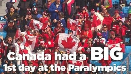 Canada has a big 1st day at Paralympics