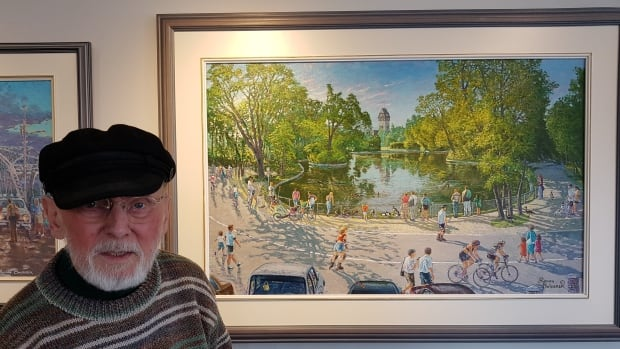 'It's life here': Memory, familiarity showcased by Winnipeg painter Roman Swiderek | CBC News