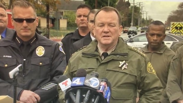 California officer killed, another injured as gunman remains barricaded