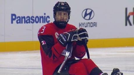 Liam Hickey Canada Hockey Paralympics