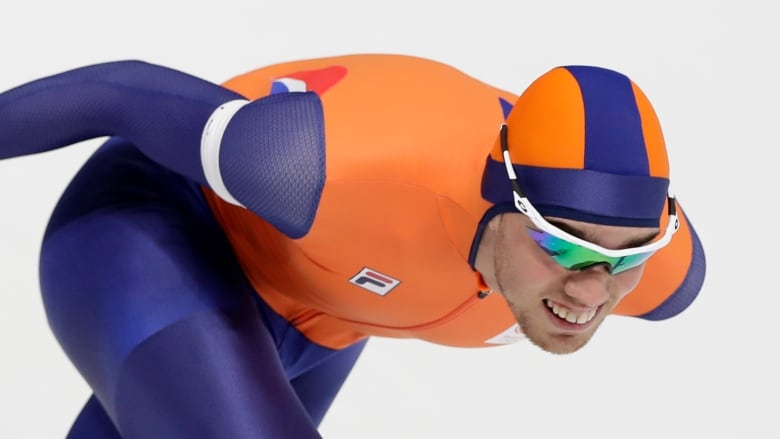 Patrick Roest Of The Netherlands Was Eight Seconds Behind The Overall Leader Heading Into The  Metre Race At The Speed Skating Allround World