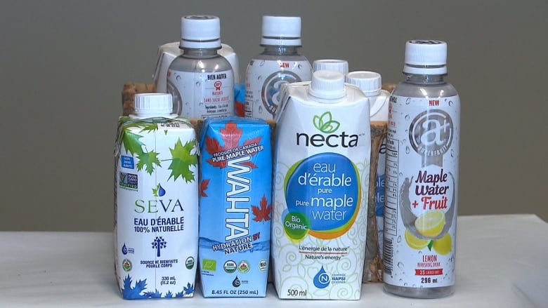 f6ed9ce96c1 The Quebec Maple Syrup Federation is encouraging producers to tap into the  growing market for maple water. (Radio-Canada)
