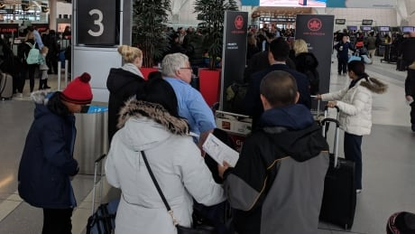 glitch blamed for delays now fixed air canada says
