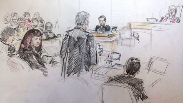 RCMP Cpl. Patrick Gould testified he searched the residence for anything that could have been used as a weapon.