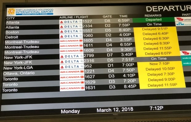 Glitch blamed for delays now fixed, Air Canada says