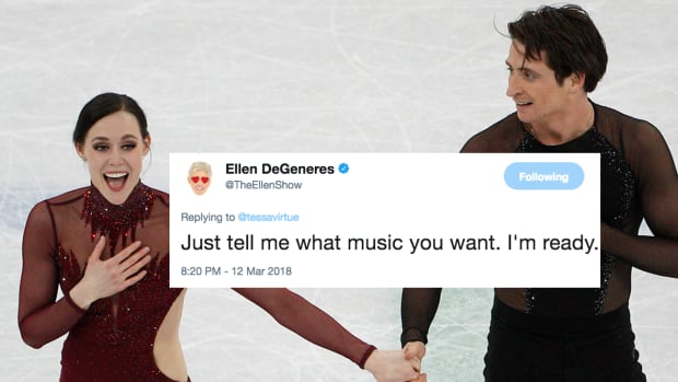 Tessa Virtue, Scott Moir will dance with Ellen Degeneres | CBC Sports