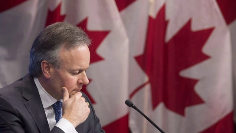 Loonie falls after Poloz suggests he's not ready to take away 'punch bowl'