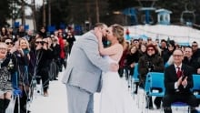 Ski Hill Wedding
