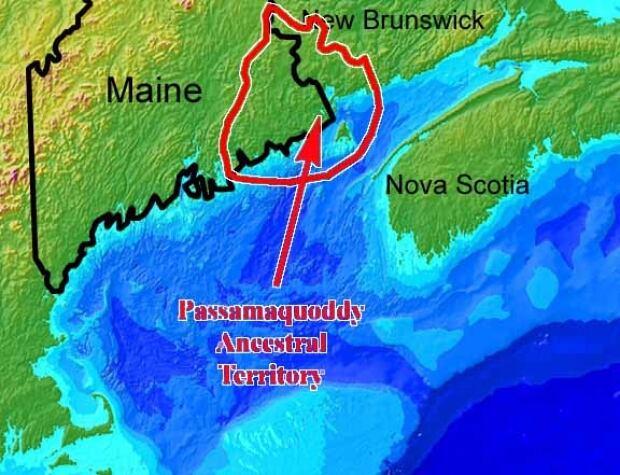 Passamaquoddy ancestral territory