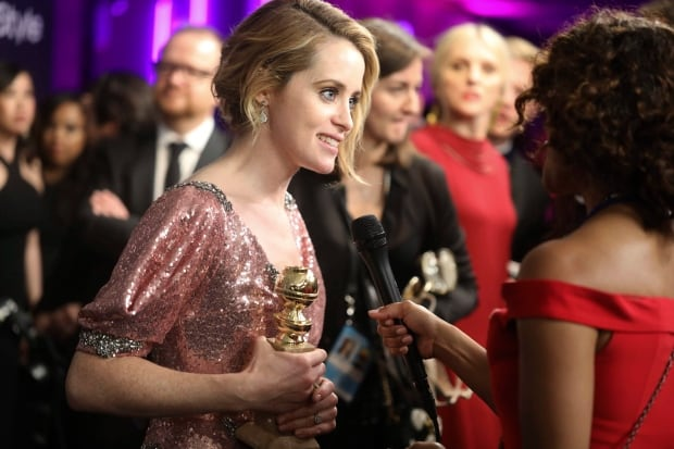 The 74th Annual Golden Globe Awards - InStyle and Warner Bros. A