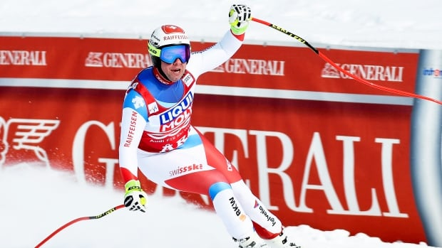 Beat Feuz outduels Svindal for World Cup downhill title