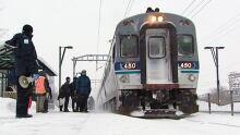 RMT train winter