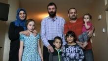 Hutterite syrian family