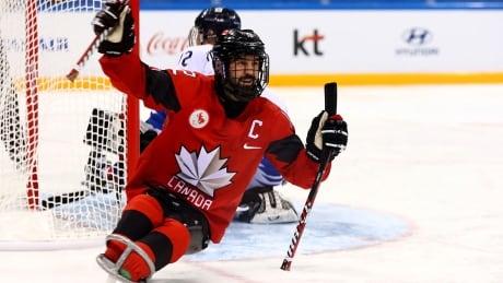 Greg Westlake Para Ice Hockey Semifinals Paralympics