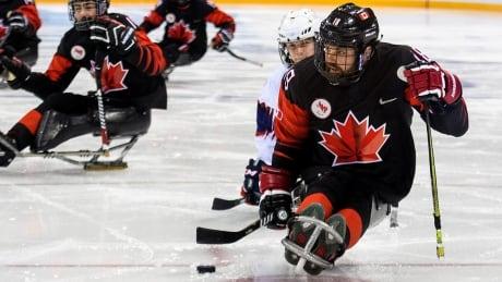 Billy Bridges Canada Para Ice Hockey Paralympics