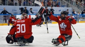 Canada takes on U.S. for para ice hockey gold