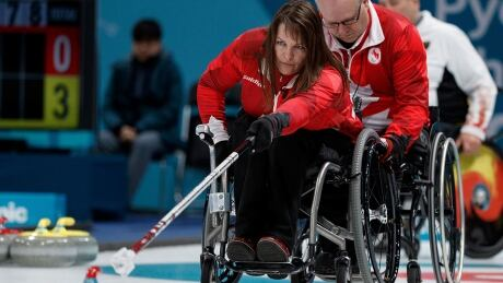 Ina Forrest Canada WheelchairCurling Paralympics