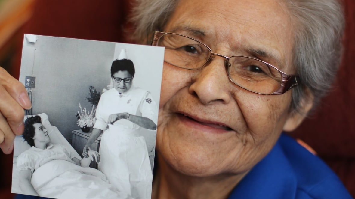 From residential school to one of Manitoba's 1st Indigenous nurses