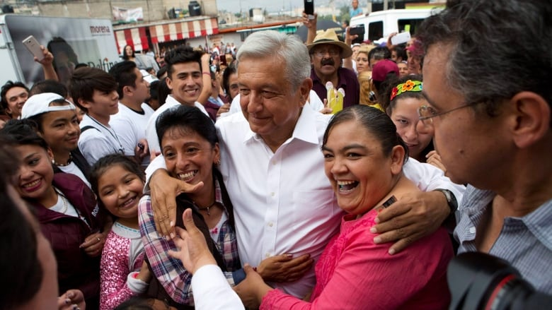 Image result for Andrés Manuel López Obrador (AMLO) the next President of the United States of Mexico.