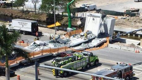 Pedestrian Bridge Collapse Miami