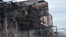 Copper Cliff iron ore recovery plant demolition1