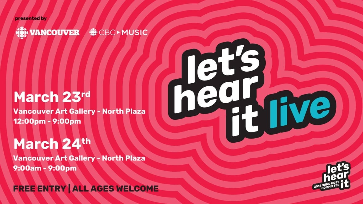 Image result for Let's Hear it LIve Vancouver images