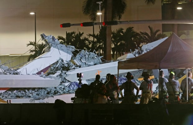 Florida university bridge collapse