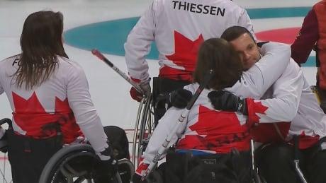 Curling Canada Lost Semifinals Paralympics