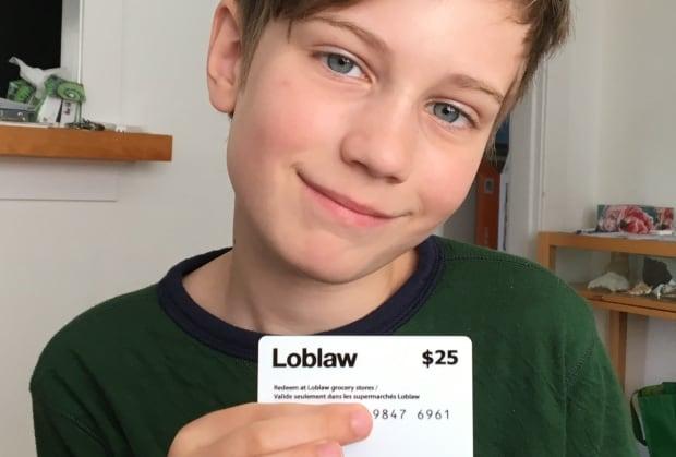 Harrison Davies Loblaws $25 gift card