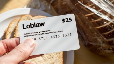 Loblaw gift certificate CBC stock 2