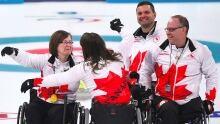 Canada Curling Bronze Pyeongchang