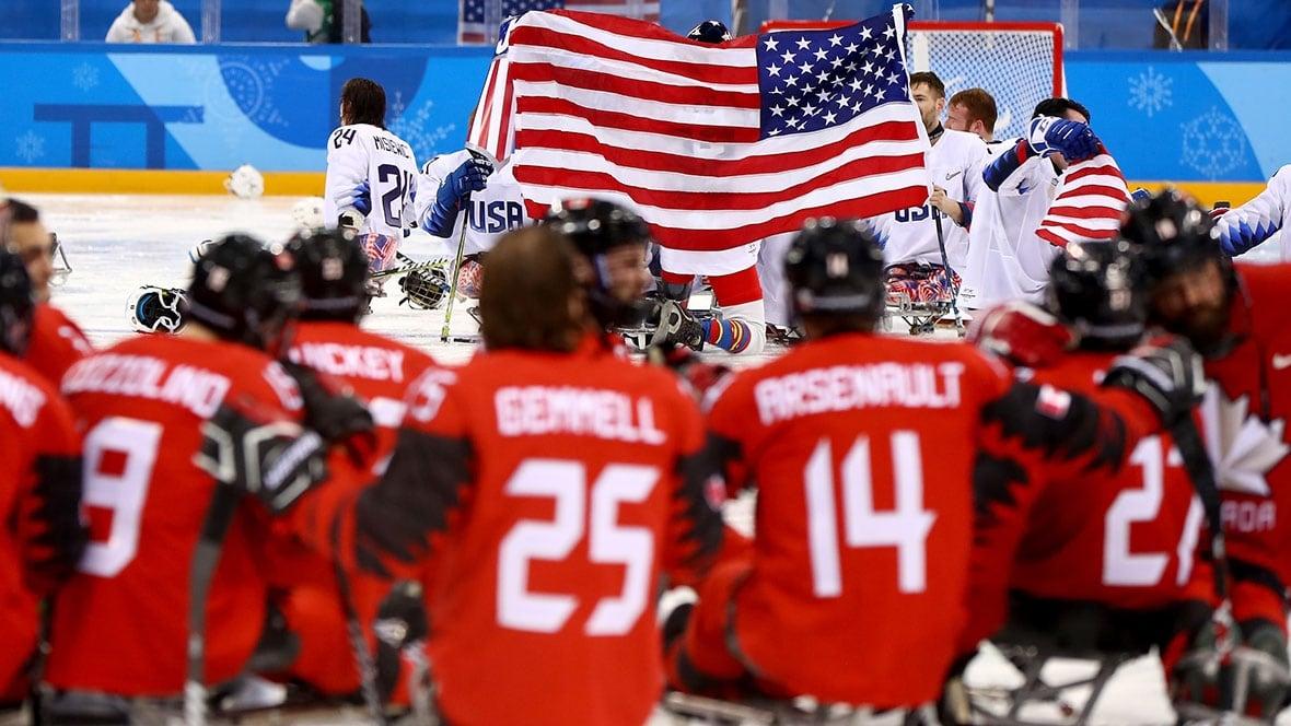 Pyeongchang: Canada Falls To U.S. In OT In Para Ice Hockey Final