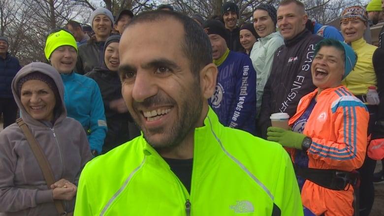 Toronto runner continues U.S. travel ban awareness campaign