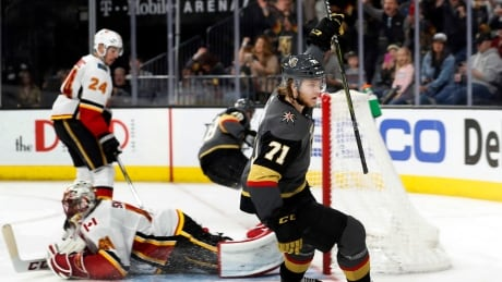 Flames Golden Knights Hockey