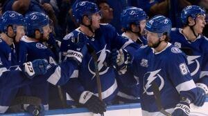 Lightning's Nikita Kucherov strikes twice to down Oilers