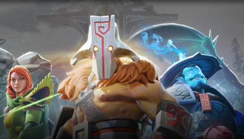 Characters From The Video Game Dota  Developed By Valve Corporation Vancouver Will Play Host To The Games Top Tournament The International