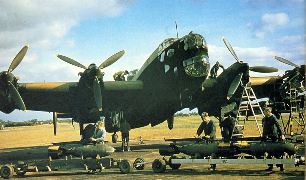 Work starts to bring WW II Halifax bomber from Swedish seabed to