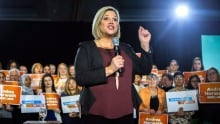 NDP Leader Andrea Horwath dental plan Toronto rally