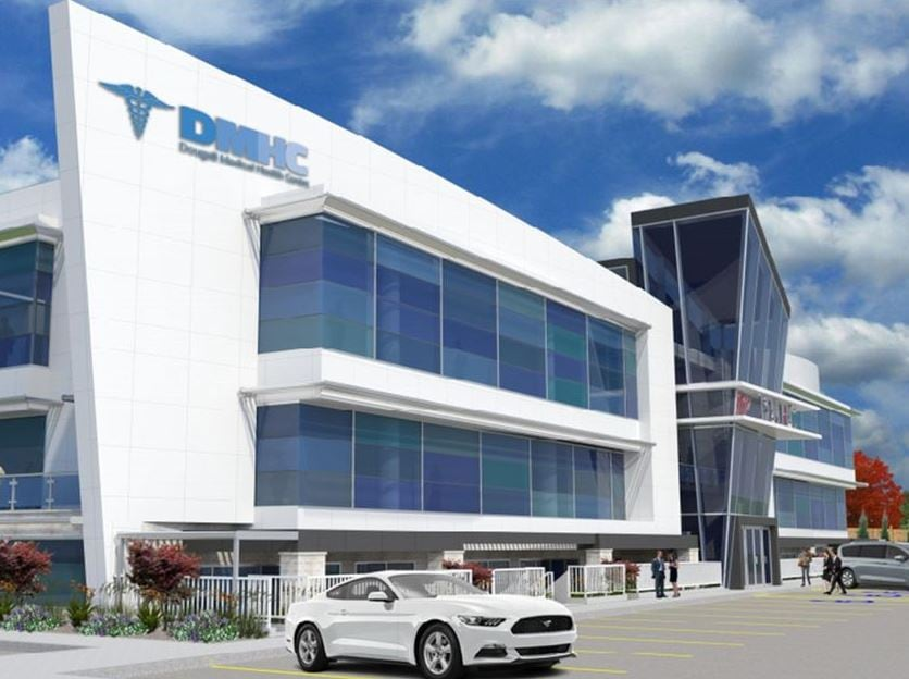 Scaled-down medical centre on Dougall Ave  up for approval
