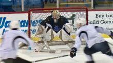 Charlottetown Islanders practice 01