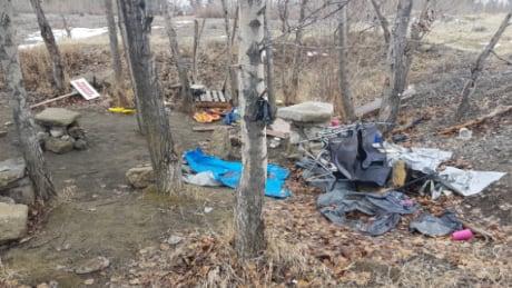 Camping debris Keremeos Similkameen