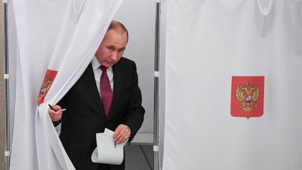 Putin elected as Russia's president for another six-year term