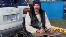 Paul Drake, homeless Sooke resident
