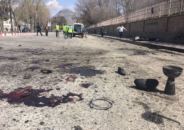 Auto bomb kills 13, wounds 40 near stadium in Afghanistan