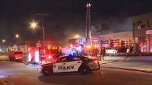Caledonia Road fire