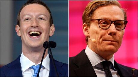 Mark Zuckerberg Alexander Nix